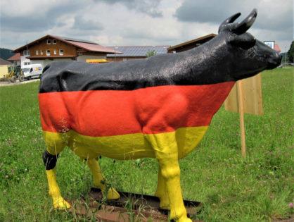 Les producteurs laitiers allemands en difficulté
