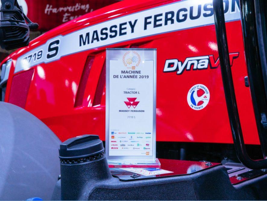 Le tracteur MF 7719 S élu Machine de l'année