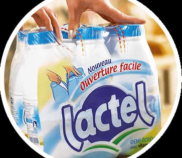 Accord entre Lactalis et Lidl sur le prix du lait