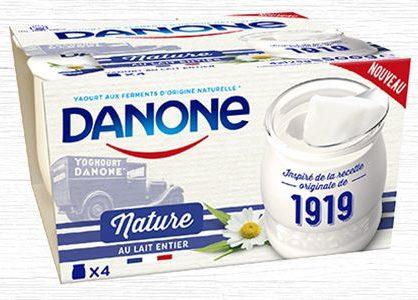 Accord Danone-Lidl sur le prix du lait