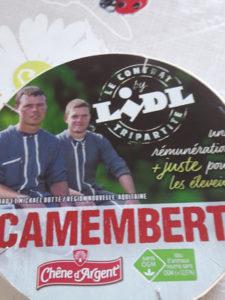 Accord Lactalis-Lidl sur les MDD