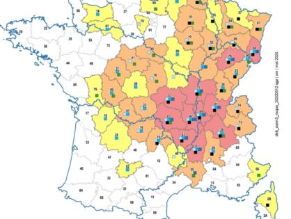 Sécheresse : les zones les plus exposées