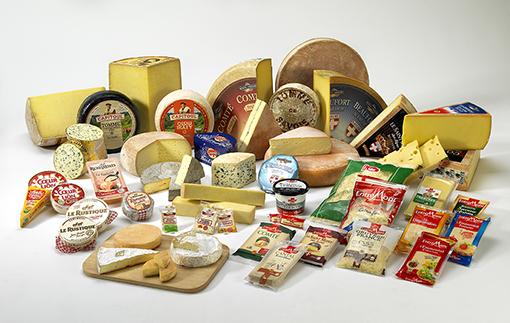 Les fromages souffrent à l'exportation