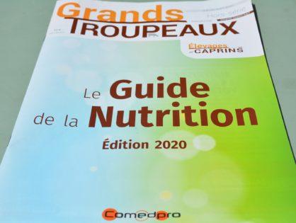 Le Guide de la nutrition 2020 est paru